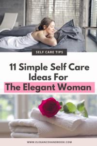 self care ideas