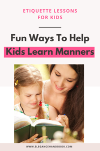 etiquette guides for kids