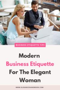 business etiquette books