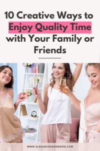 quality time ideas