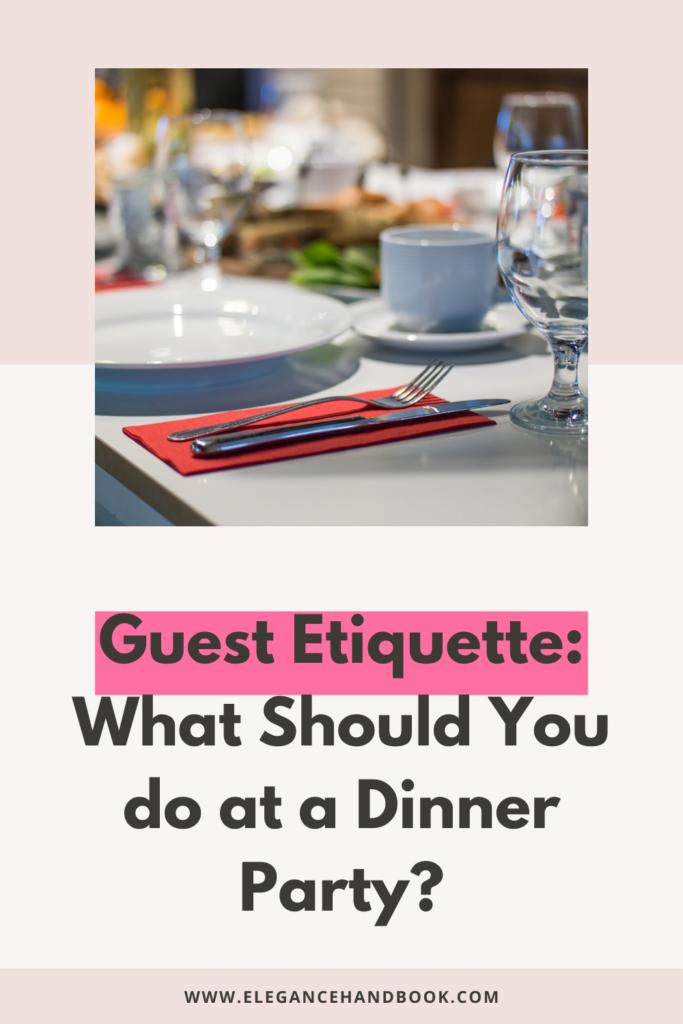 party guest etiquette